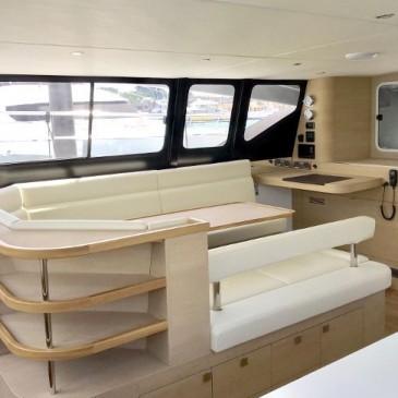 Intérieur de bateaux de plaisance réalisé par Naviline